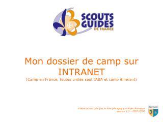 Pr sentation faite par le Pole p dagogique Alpes-Provence version 1.0   2007