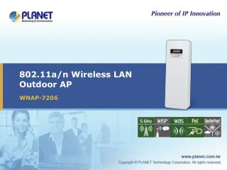 802.11a/n Wireless LAN Outdoor AP