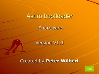 Asuro bootloader
