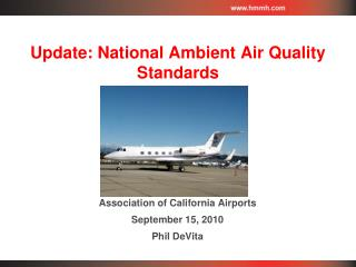 Update: National Ambient Air Quality Standards
