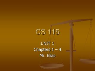 CS 115