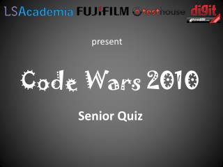 Code Wars 2010