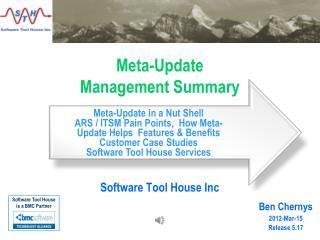 Meta-Update Management Summary
