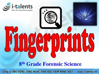8 th  Grade Forensic Science