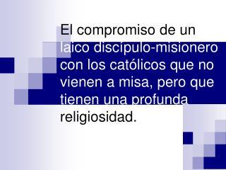 1.-  Las Comunidades  eclesiales de base