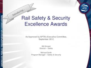 Rail Safety & Security Excellence Awards