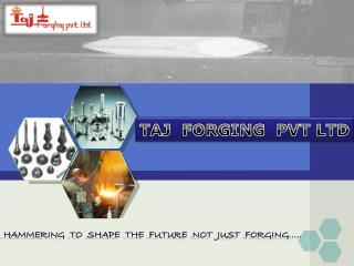 TAJ  FORGING  PVT LTD
