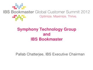 Symphony Technology Group  and  IBS Bookmaster