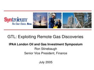 GTL: Exploiting Remote Gas Discoveries