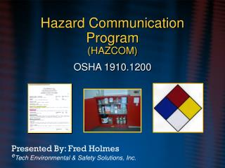 Hazard Communication Program (HAZCOM)