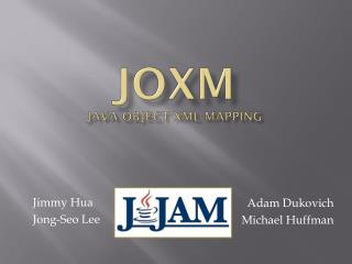 JOXM Java Object XML Mapping