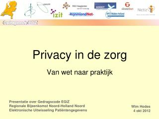 Privacy in de zorg