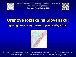 Uránové ložiská na Slovensku: geologické pomery, genéza a perspektívy tažby