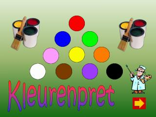 Kleurenpret