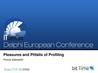Pleasures and Pitfalls of Profiling