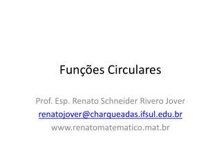 Funções Circulares