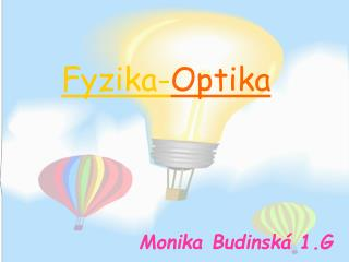 Fyzika- Optika