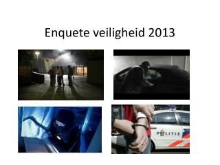 Enquete veiligheid  2013