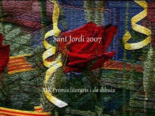 Sant Jordi 2007