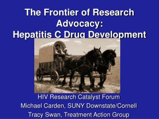 The Frontier of Research Advocacy:  Hepatitis C Drug Development