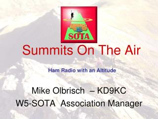 Summits On The Air