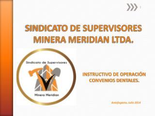 SINDICATO DE SUPERVISORES MINERA MERIDIAN LTDA.