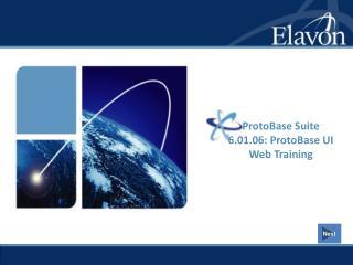 ProtoBase Suite 6.01.06: ProtoBase UI Web Training