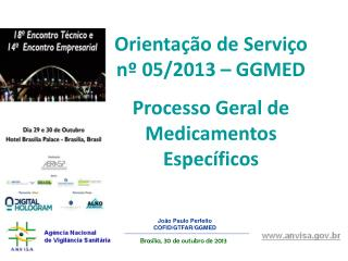 João Paulo Perfeito COFID/GTFAR/GGMED
