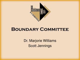 Boundary Committee