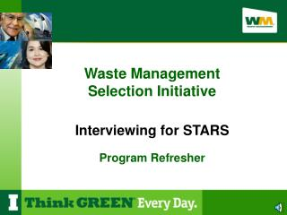 Interviewing for STARS Program Refresher