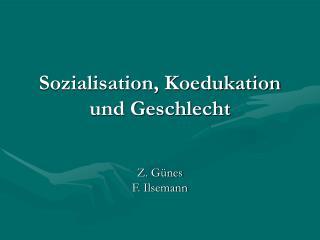 Sozialisation, Koedukation und Geschlecht