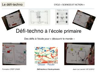 Le défi-techno