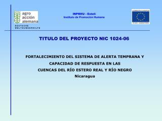TITULO DEL PROYECTO NIC 1024-06
