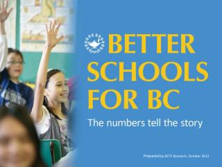 Prepared  by BCTF Research, October 2012
