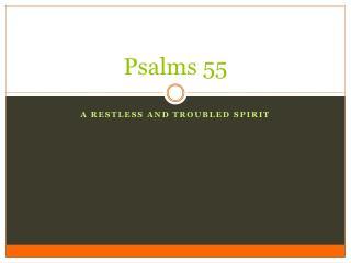 Psalms 55