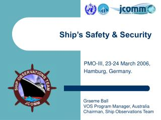 Ship's Safety & Security