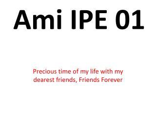 Ami IPE 01