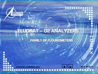 FLUORAT � 02 ANALYZERS
