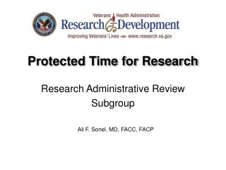 Protected Time for Research