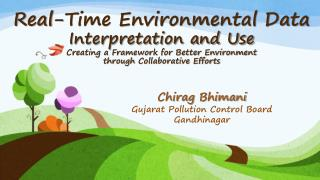 Chirag Bhimani Gujarat Pollution Control Board Gandhinagar