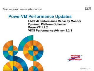 PowerVM Performance Updates