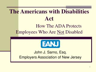 The Americans with Disabilities Act   How The ADA Protects Employees Who Are Not Disabled
