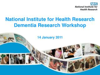 National Institute for Health Research Dementia Research Workshop