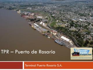 Terminal Puerto Rosario S.A.