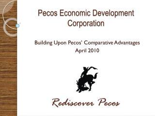 Pecos Economic Development Corporation