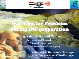 Waste Sector Problems during INC preparation