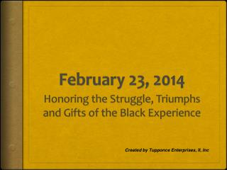 February 23, 2014