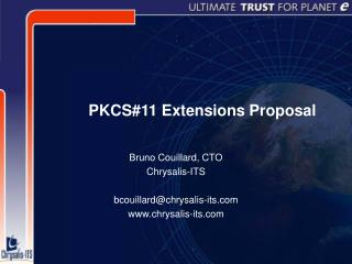 PKCS#11 Extensions Proposal