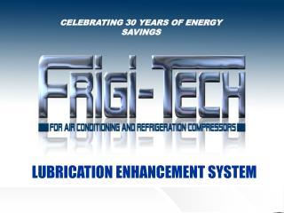 CELEBRATING 30 YEARS  OF ENERGY SAVINGS