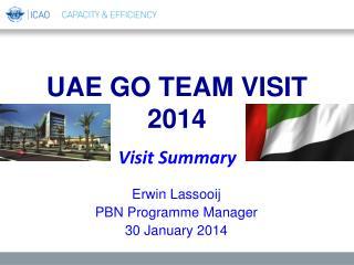 UAE GO TEAM VISIT 2014